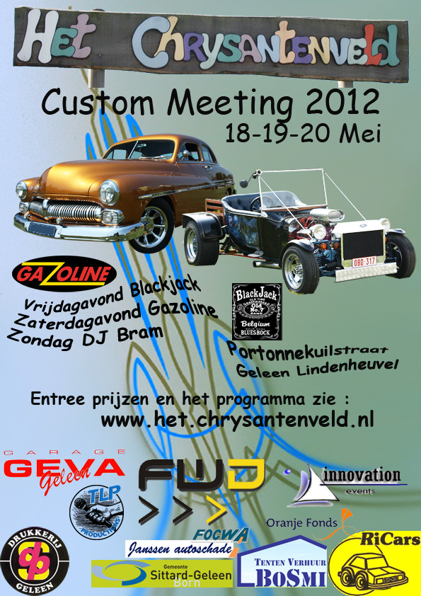 Custom meeting Chrysantenveld 2012
